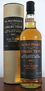GLEN SCOTIA 1990 SINGLE MALT 11 YRS G & M 70 CL