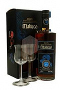 MALTECO 10 YRS + 2 GLAZEN